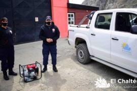 Equipamiento a bomberos