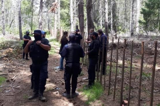 Una toma de tierras fue desarticulada por Municipio y la Policía