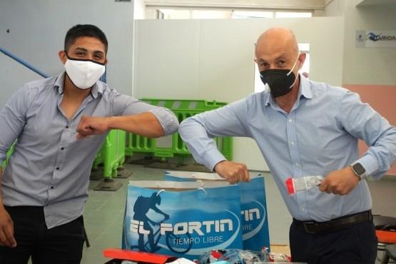 Fortín donó elementos de bioseguridad destinados al centro de atención COVID