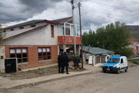 Una de las viviendas allanadas por la policía.