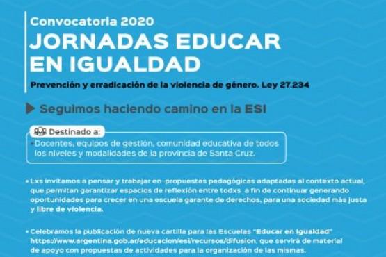 Jornadas Educar en Igualdad