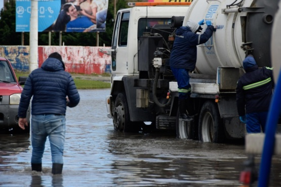 Municipio realizó un importante despliegue para hacer frente a la urgencia climática