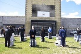 Se puso en función el Sistema de Monitoreo y asumieron 35 agentes penitenciarios en Pico Truncado