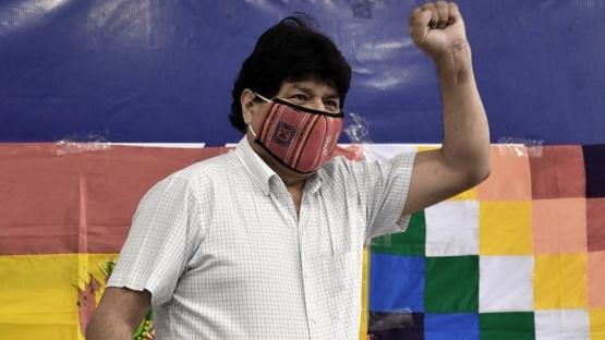 Evo Morales vuelve el lunes a Bolivia