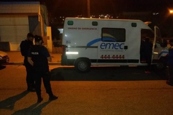 Detenido por robar bolsos con medicamentos y dañar una ambulancia