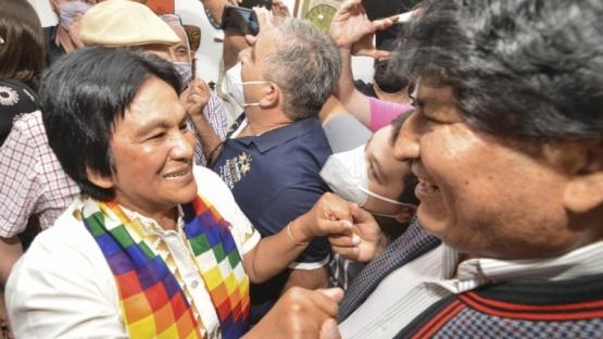 """Milagro Sala: """"Latinoamérica se está levantando nuevamente"""""""