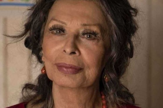 Sophia Loren vuelve al cine con un film dirigido por su hijo