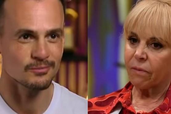 """El gesto de Claudia Villafañe a Christian Sancho en """"Masterchef Celebrity"""