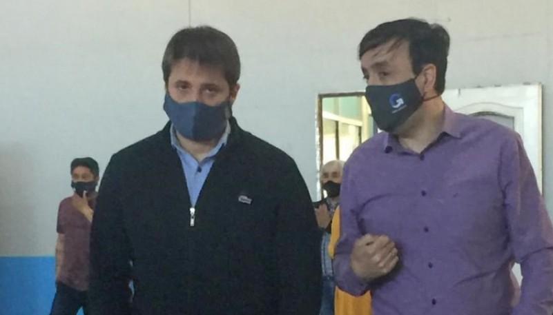 Autoridades provinciales visitaron el Centro de Monitoreo de Contactos Estrechos
