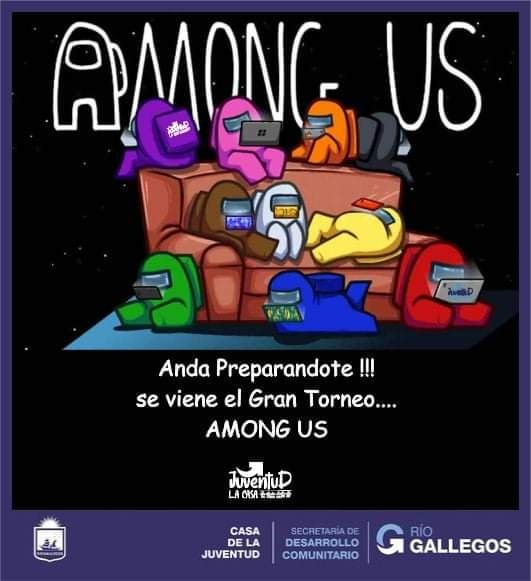 Municipalidad de Río Gallegos lanza un torneo de Among Us