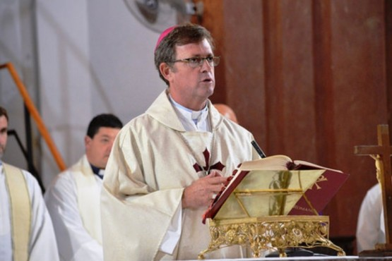 Obispo de la diócesis de Río Gallegos.