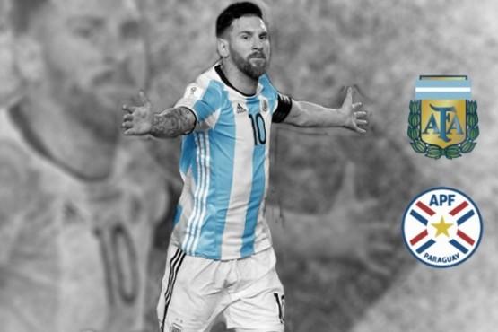 Argentina recibe a Paraguay: horario, tv y formación