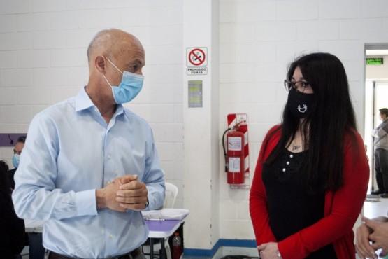 Cotillo recibió a la subsecretaria de Estado e Interior para visitar el Plan Detectar