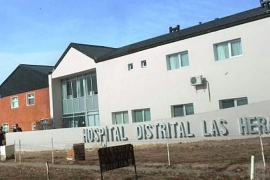El hombre se encuentra internado en Terapia Intensiva del Hospital.