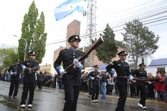 Este año no se realizará el tradicional desfile de la policía. (Foto archivo)