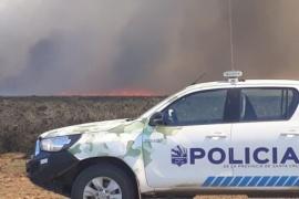 Brigadistas controlaron importante incendio en estancias
