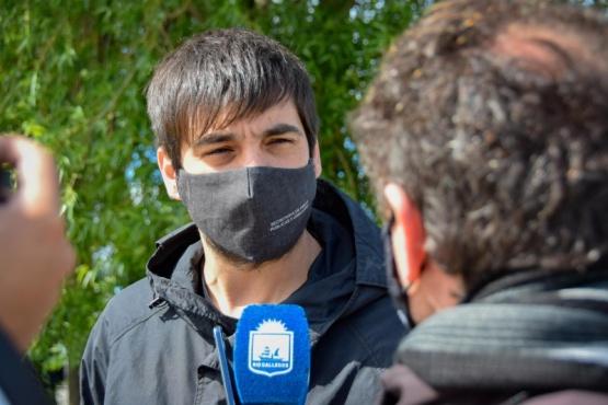 """Lucas Otín: """"vamos poniendo en condiciones la ciudad"""""""