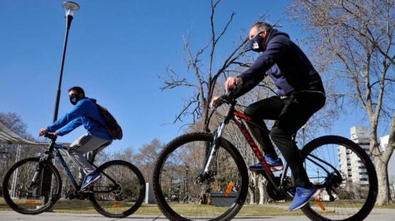 Pandemia: La bicicleta es el medio de transporte más usado en el país