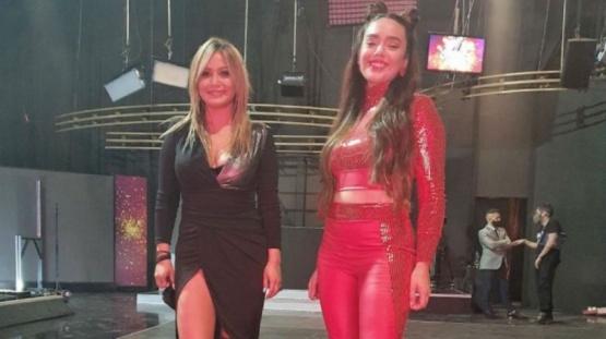 Ángela Leiva habló de su vínculo con Karina La Princesita