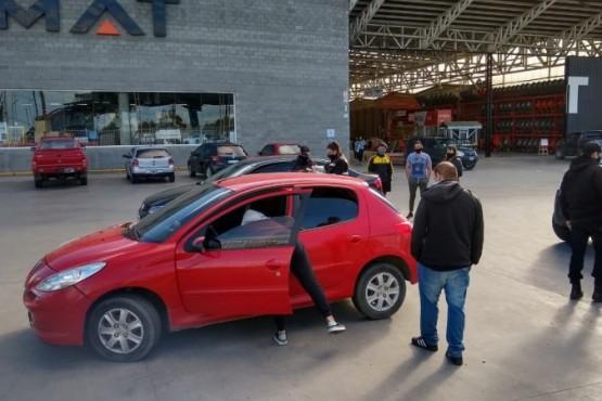 El Peugeot fue secuestrado por falta de documentación. (Foto: C.G.)
