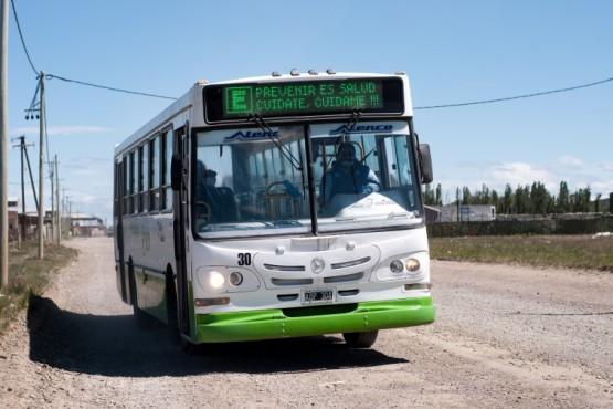 Línea E con recorrido extendido