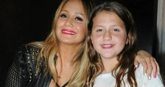 Karina y su hija.