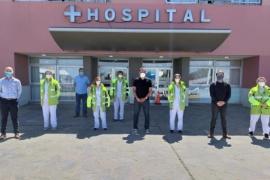 Llegaron profesionales del Hospital El Cruce a Caleta Olivia