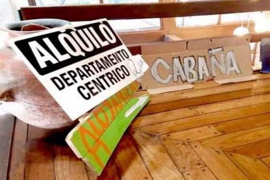 Alquileres Turísticos informales, obligados a inscribirse