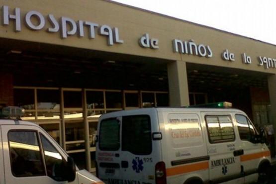 Un nene de 2 años perdió el brazo tras meter la mano en un secarropas