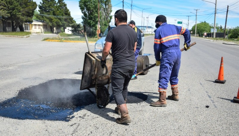 Río Gallegos| Municipio avanza con el arreglo de calles