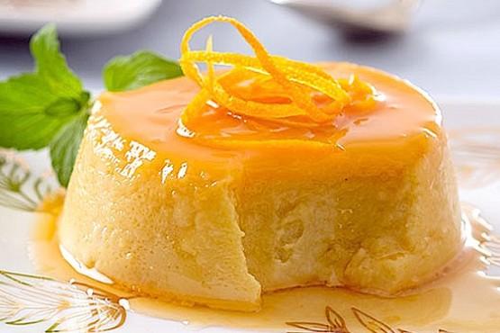 Cómo hacer flan de naranja
