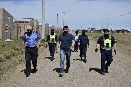 Santa Cruz| Seguridad desplegó controles en barrios de Río Gallegos