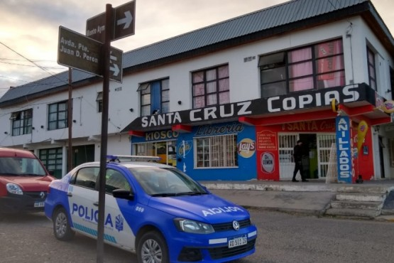 Río Gallegos| La policía investiga un hecho con arma de fuego (Foto: Cristián González)