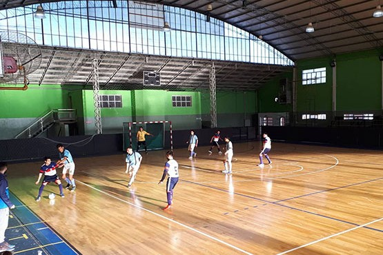 28 de Noviembre   Se juega la tercera del Torneo Relámpago de Fútbol de Salón