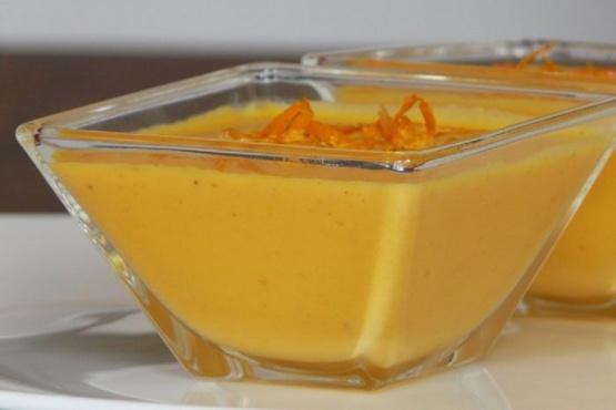 Cómo hacer crema de mandarina