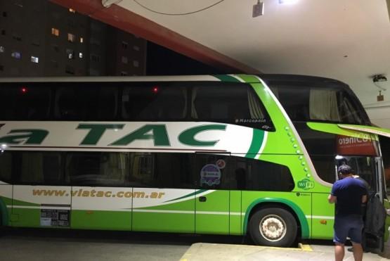 Comodoro Rivadavia| Llegó el primer colectivo a la terminal