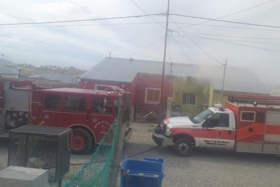 Puerto Deseado  Bomberos controló importante incendio