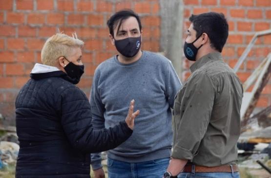 Río Gallegos| Llevaron tranquilidad ante rumores de toma de terrenos