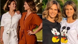 Amalia Granata compartió una tierna foto con su hija Uma e impactó por su parecido