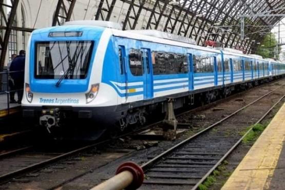 Un delincuente intentó robar en el tren y casi muere aplastado
