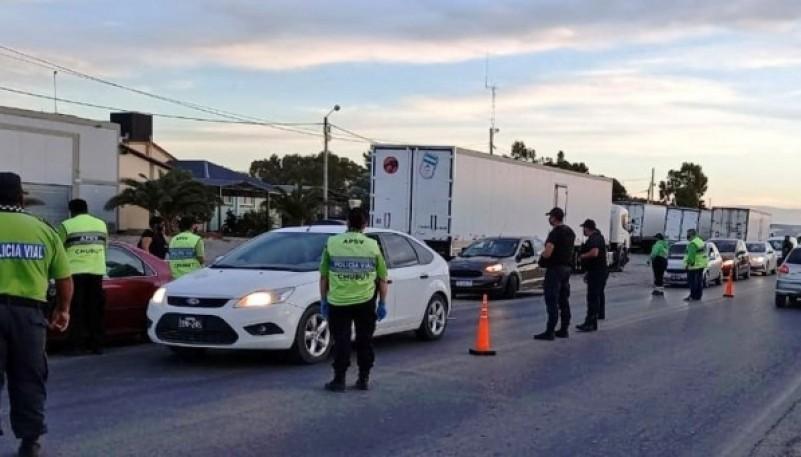 Chubut  73 conductores retirados de la vía pública por alcoholemia y narcolemia positivas durante el fin de semana