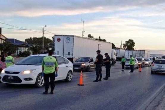 Chubut| 73 conductores retirados de la vía pública por alcoholemia y narcolemia positivas durante el fin de semana