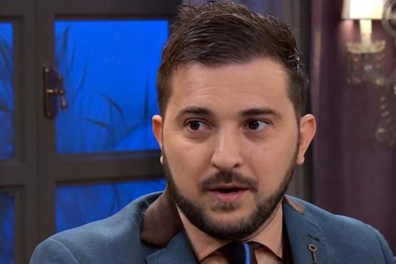 """Diego Brancatelli recibió un particular regalo con la cara de Néstor Kirchner: """"Qué genial"""""""