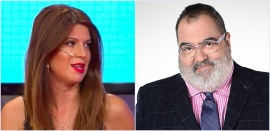Jorge Lanata y Elba Marcovecchio: romance confirmado