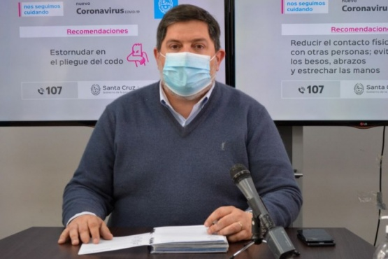 Santa Cruz | Anunciaron que llegaron elementos de protección a hospitales