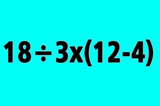 ¿Podés resolver este difícil problema matemático? El reto que es furor en la web