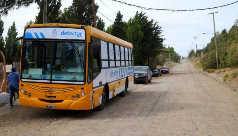 Caleta Olivia| El Centro de Detección Móvil hisopó vecinos de Zona de Chacras