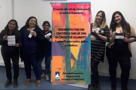 Estudiantes crearon un cuadernillo sobre prevención del Maltrato infantojuvenil en Pandemia