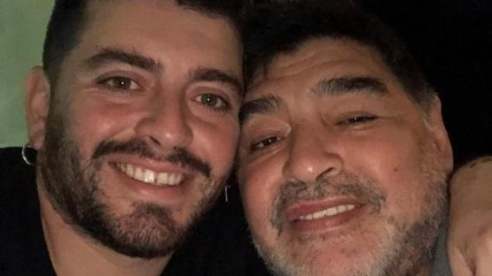 Diego Maradona Jr y la triste forma en que se enteró de la muerte de su padre