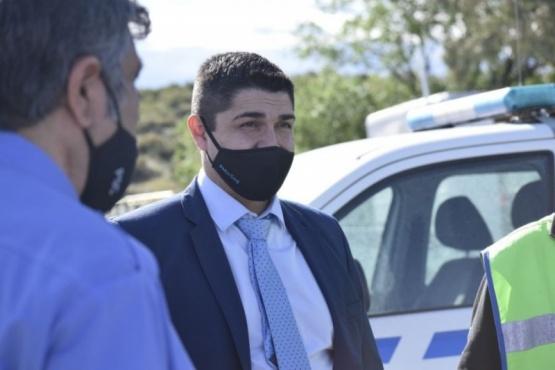 El ministro de Seguridad de la Provincia, Lisandro De La Torre.